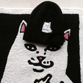 RipNdip Lord Nermal Beanie 竖中指 贱猫咪 针织 冷帽