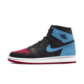 预售!Air Jordan 1 AJ1 UNC Chicago 警灯红蓝拼接黑红脚趾 CD0461-046(2020.3.8发售)