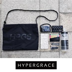 HYPERGRACE 夏季防水补给包通勤简便尼龙布单肩生活