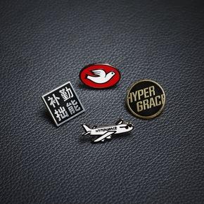 HYPERGRACE Badge 个性原创徽章胸针 PIN