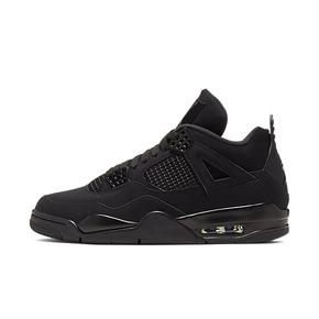Air Jordan 4 AJ4 黑猫 纯黑 黑武士 黑麂皮 CU1110-010