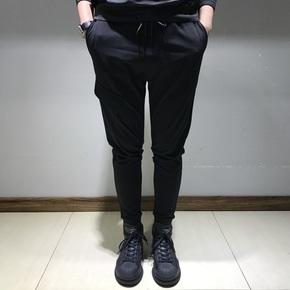 JOESPIRIT 春上新 细节口袋设计经典版型小脚束腿裤 JTKZ01