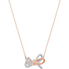 SWAROVSKI(施华洛世奇) 19新款玫瑰金蝴蝶结项链