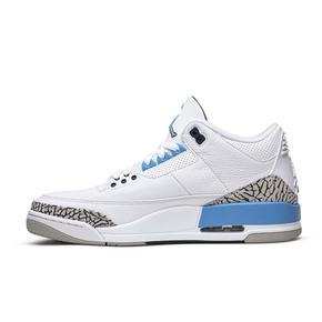 """预售!Air Jordan 3 """"UNC"""" 北卡蓝篮球鞋CT8532-104(2020.3.7发售)"""