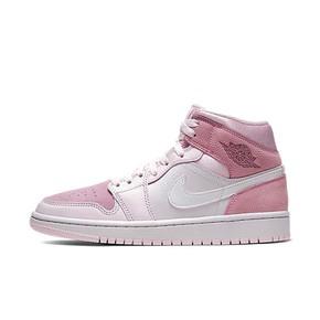 预售!Air Jordan1 Mid Digital Pink AJ1数码粉樱花粉 CW5379-600(2020.3.8发售)