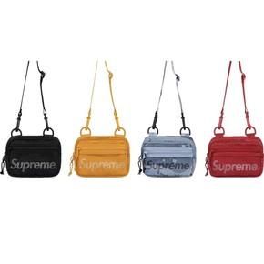 supreme 20ss small shoulder bag 反光logo 挎包