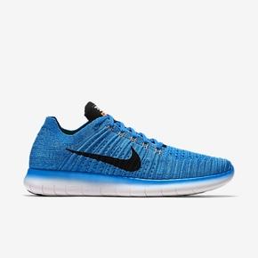 Nike Free Flyknit 蓝色 831069-401