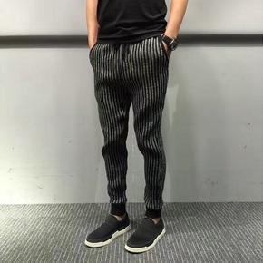 JOESPIRIT 法国特殊针织面料舒适束腿裤 0218