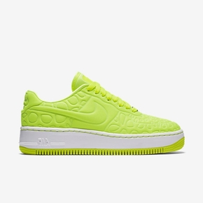 Nike Air Force 1 荧光绿 休闲板鞋
