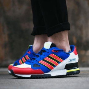 Adidas 三叶草 ZX750 红蓝白 休闲鞋 AF4610