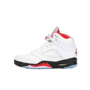 预售!Air Jordan5 AJ5流川枫 白红火焰红 篮球鞋 DA1911-102(2020.4.25发售)