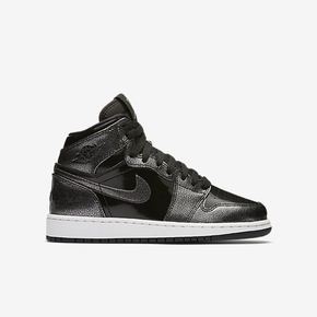 断码特惠!Air Jordan 1 Retro High GS 黑漆皮 705300-017