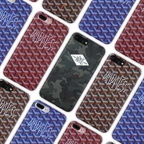 【定制】MADNESS全包磨砂软壳带挂绳孔 for iPhone6/7/PLUS