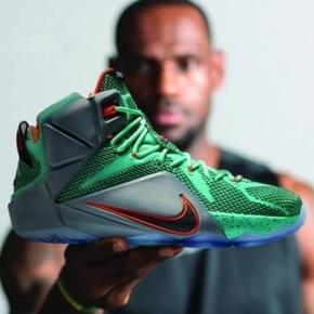 Nike Lebron 12 詹姆斯实验室 707781-301