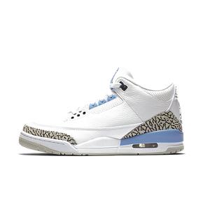 """Air Jordan 3 """"UNC"""" 北卡蓝篮球鞋CT8532-104"""