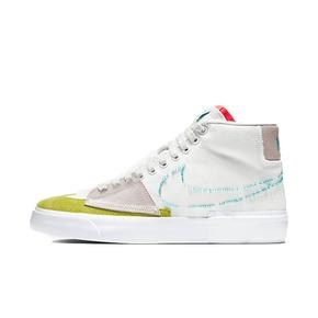 Nike SB Blazer mid 白蓝 拆钩拆线 中帮板鞋 CI3833-101