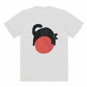 JOESPIRIT春夏 弹力莫代尔 黑白印花T恤 男女同款 TT001007