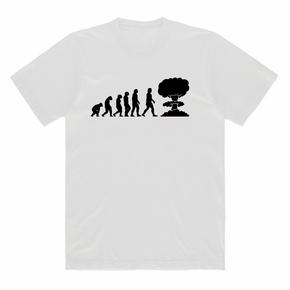 JOESPIRIT春夏 弹力莫代尔 黑白印花T恤 男女同款 TT001012