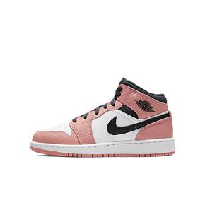钟楚曦同款 Air Jordan 1 AJ1 樱花粉 白粉 粉脚趾 黑粉 555112-603