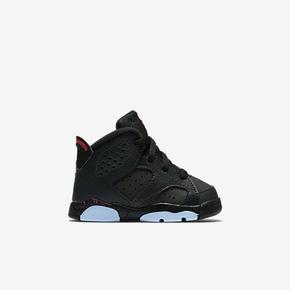 Air Jordan 6 童鞋 黑粉 645127-008