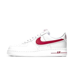 秒杀!Nike Air Force 1 AF1 白红 空军一号男女休闲低帮板鞋AO2423-102