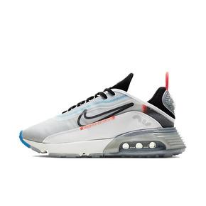 王一博同款!Nike Air Max 2090 白蓝 蝉翼大气垫休闲跑鞋 CT7695-100