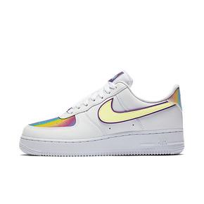 Nike Air Force 1 AF1空军一号 镭射炫彩女板鞋 CW0367-100