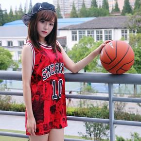 GZKHCOM 櫻木花道流川楓灌籃高手球鞋熱血籃球運動漫畫夏男女球衣