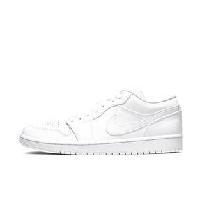 AIR JORDAN1 LOW AJ1纯白低帮男女篮球鞋 553558-126