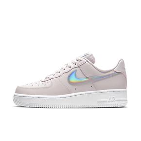 Nike Air Force 1 Low AF1空军一号 藕粉 镭射女子板鞋CJ1646-600