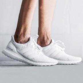 Adidas Ultra Boost 3.0 跑步鞋 纯白 BA8841