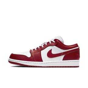 Air Jordan 1 Low AJ1 白红低帮篮球鞋 553558-611