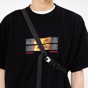 ROARINGWILD SS18 咆哮野獸 觀察力原生面料印花短袖T恤