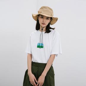 ROARINGWILD SS20 咆哮野兽 白色卡通效果印花短袖T恤