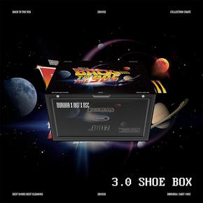 DBRukia BLACK TO 90S 限定联名鞋盒侧开鞋墙收纳盒收纳柜