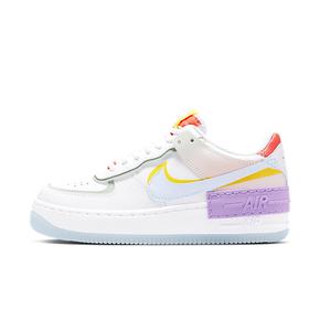 Nike Air Force 1 Shadow AF1 糖果白蓝粉紫拼接休闲鞋CW2630-141