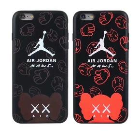 【定制】AJ x Kaws热感软壳手机壳for iPhone 6/7/s Plus