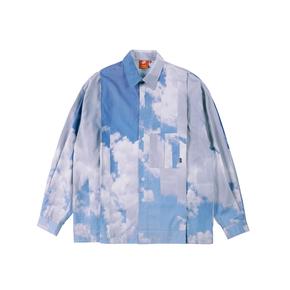 FMACM 2020SS艺术家合作天空印花长袖衬衫