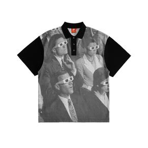 FMACM 20SS 景观社会印花短袖polo衫