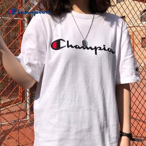 秒杀!Champion 冠军刺绣T恤 T1919G