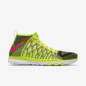Nike Train Ultrafast Flyknit 柠檬黄 843694-999