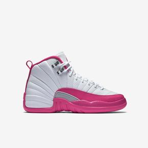 """36码一双秒价!Air Jordan 12 GS """"Pink"""" 510815-109"""