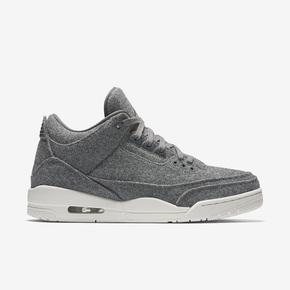 """Air Jordan 3 """"Wool"""" 深灰羊毛 854263-004"""
