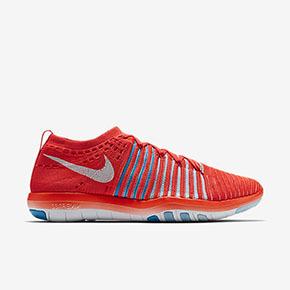 Nike Free Transform Flyknit 红色 女训练鞋 833410-601