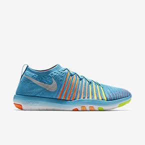 Nike Free Transform Flyknit 蓝色 女训练鞋 833410-400