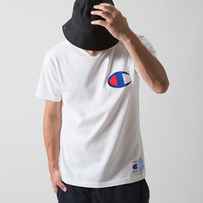 Champion冠軍日版純棉短袖T恤logo刺繡夏季男女情侶潮牌 C3-F362