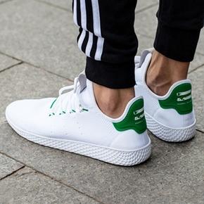 Adidas Pharrell Williams Tennis HU菲董联名绿尾 BA7828