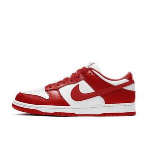预售!Nike Dunk Low 白红 滑板鞋 CU1727-100(2020.6.12发售)