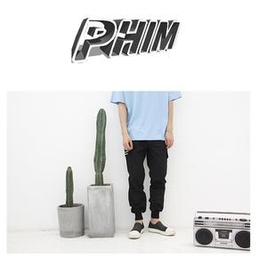 PHIM 工装束脚裤 P16S-P01