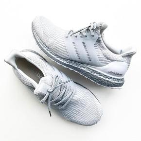 Adidas Ultra Boost 3.0 Crystal White 银灰 BA8922
